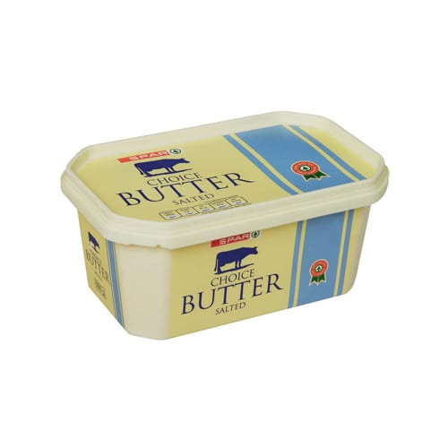 Spar Butter In A Tub 500g 1