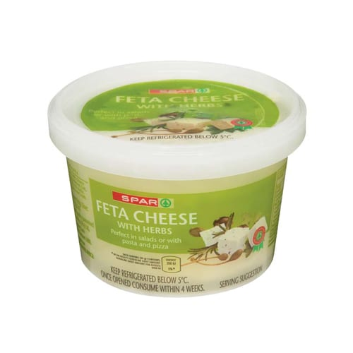 Spar Feta Cheese Herb 200g 1