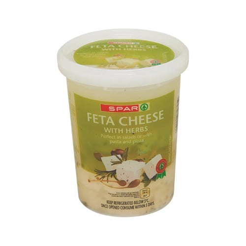 Spar Feta Cheese Herb 400g 1