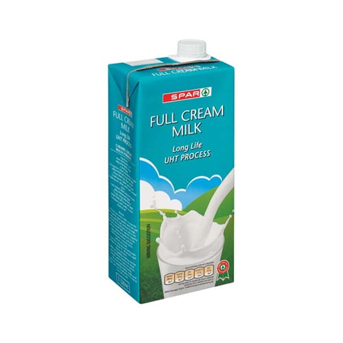 Spar Full Cream Long Life 1lt 1