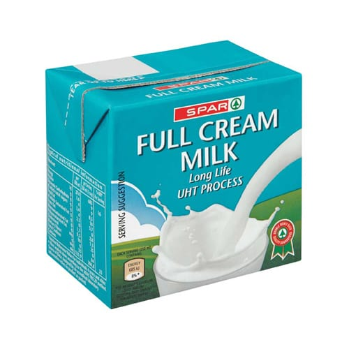 Spar Full Cream Long Life 500ml 1