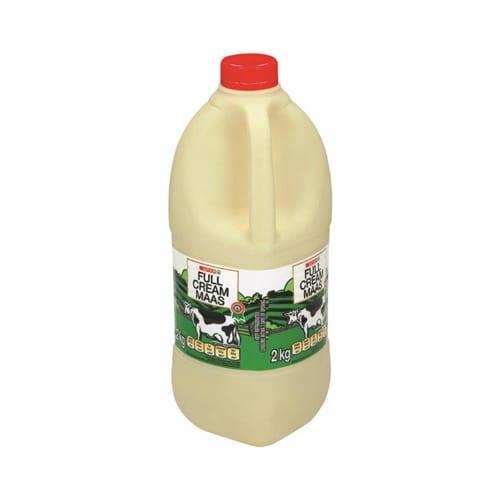 Spar Full Cream Maas 2kg 1