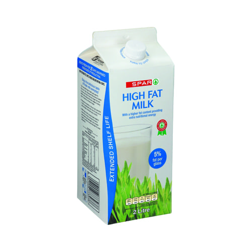 Spar Milk Extended Shelf Life High Fat 1