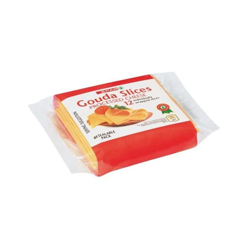 Spar Processed Cheese Gouda Slices 200g