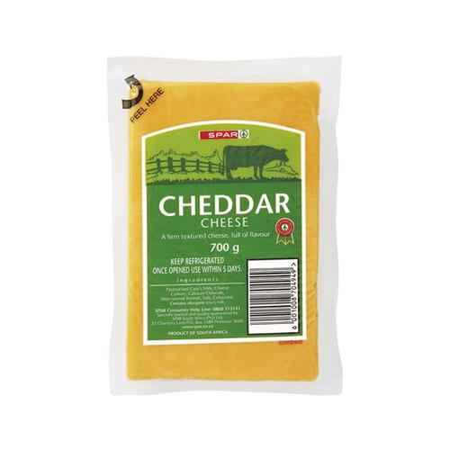 Spar Vacuum Packed Cheddar Cheese 700g 1