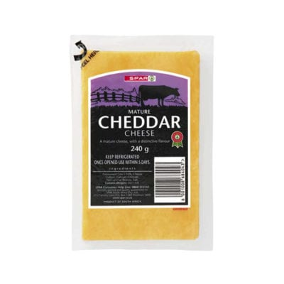 Woodlands Dairy - Mature cheddar cheese