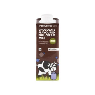 Woodlands Dairy - Chocolate flavoured full cream milk