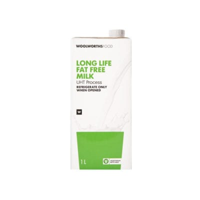 Woodlands Dairy - Long life fat free milk